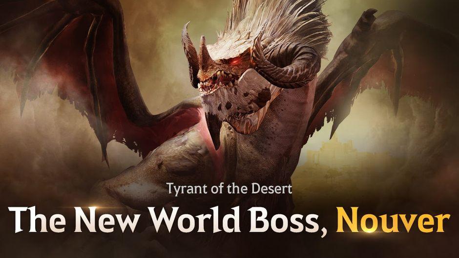 Black Desert Mobile - Nouver World Boss