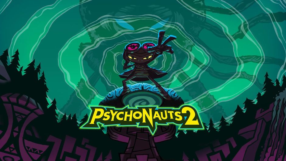 Psychonauts key art, showing protagonist Razputin