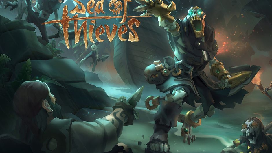 Pirates are fighting the undead in Sea of Thieves.
