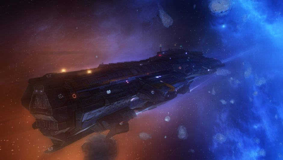 Picture of a giant ship in space in Starpoint Gemini Warlords