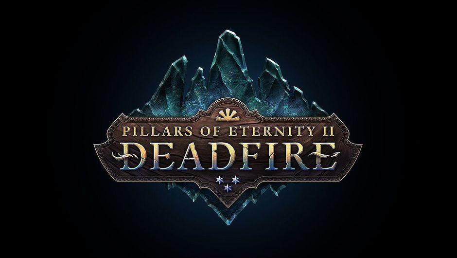 Promotional picture for PIllars Of Eternity II: Deadfire on a black background.