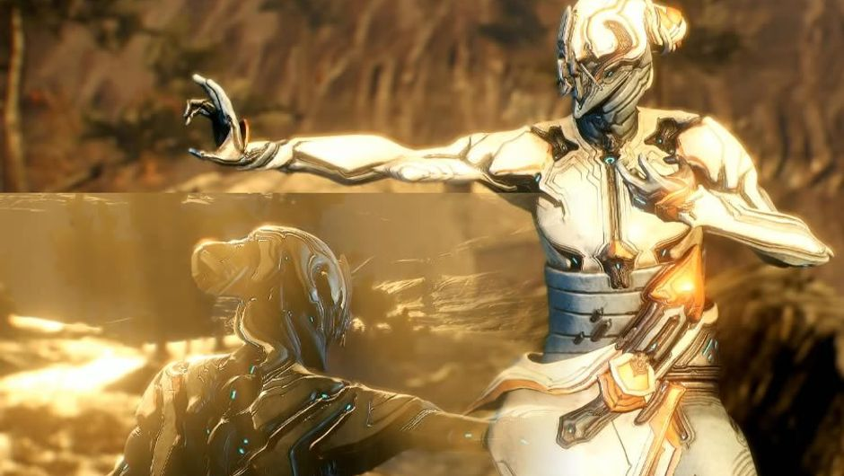 Baruuk, Warframe's new frame in a kung fu pose