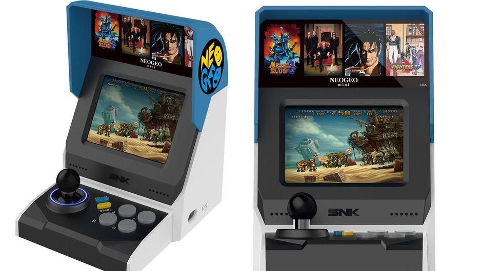 Overseas color scheme of SNK's NEOGEO Mini console
