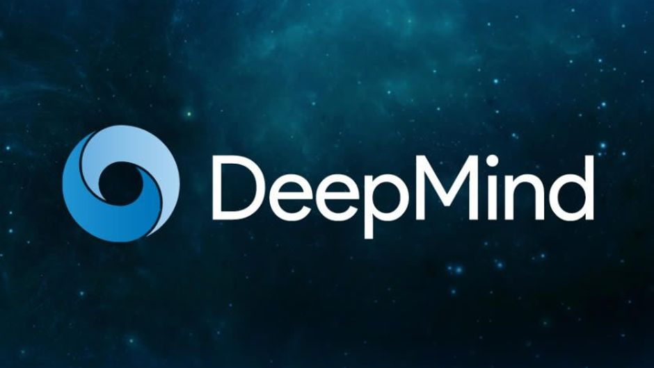 Logo of Google's artificial intelligence project DeepMind