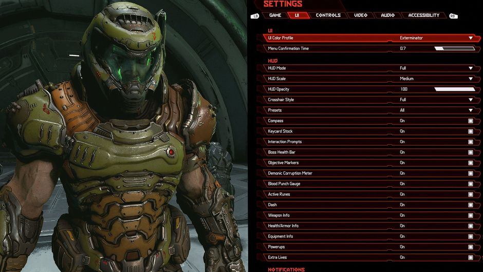 Doom Eternal Reveals Extensive Hud Customisation Settings