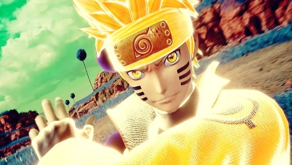 Six Paths Sage mode Naruto in Jump Force.