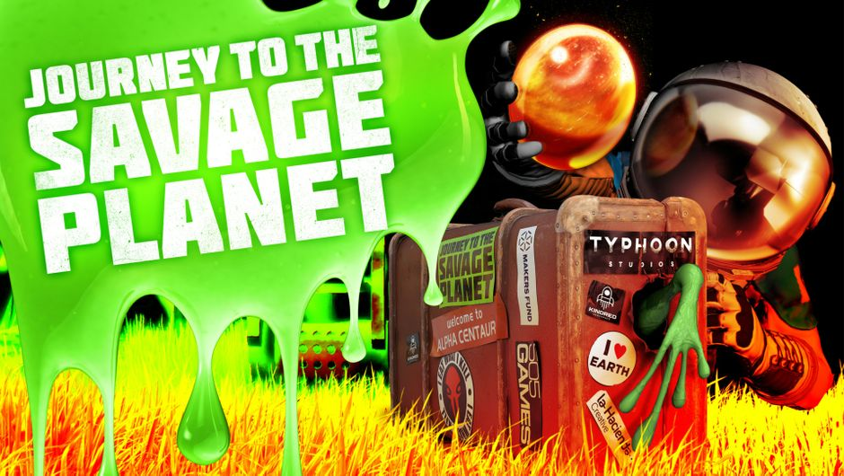 Key art for Journey to the Savage Planet