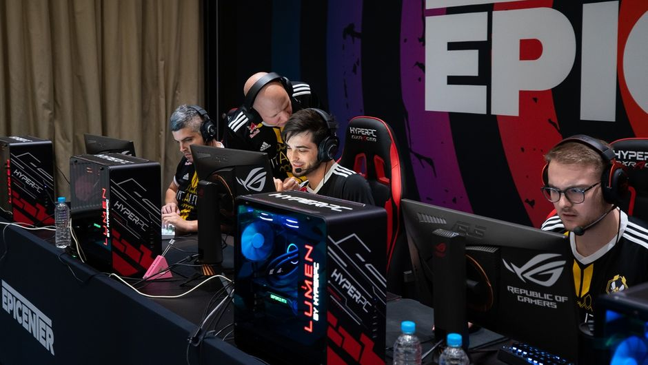 photo from Epicenter 2019 tournament in csgo