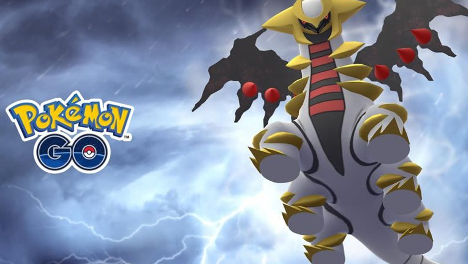 Giratina, 4th gen Ghost/Dragon Pokemon from Pokemon GO