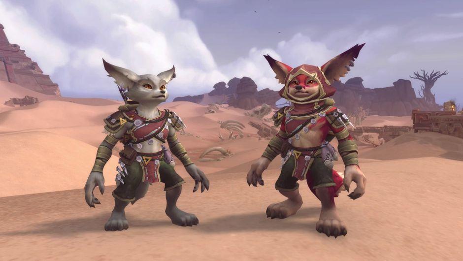 World of Warcraft - Vulpera race screenshot