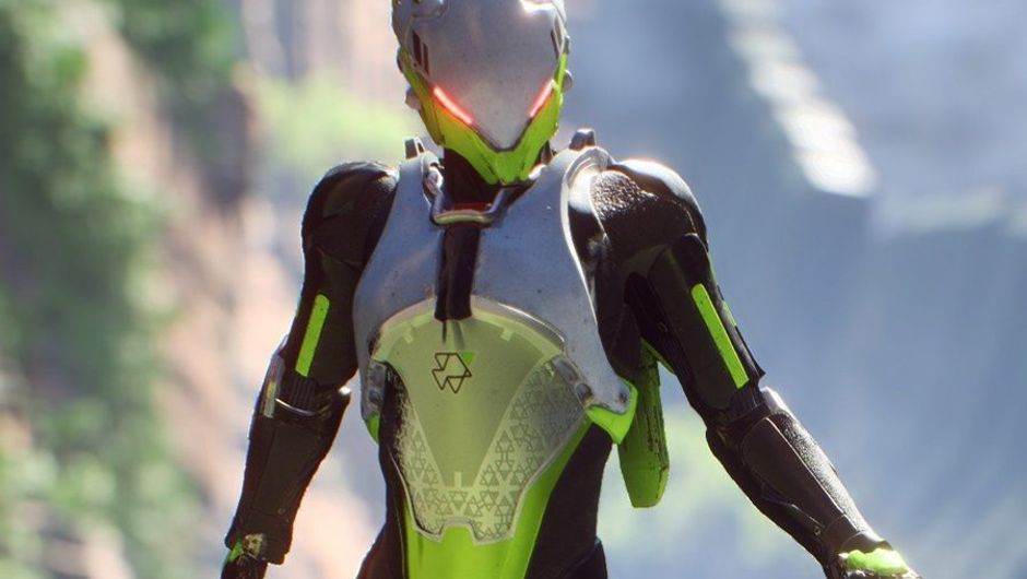 picture showing a character from anthem