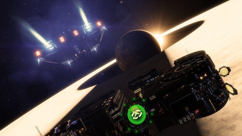 Elite Dangerous spacecraft