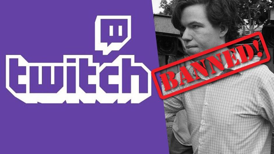 picture showing twitch logo and charged streamer