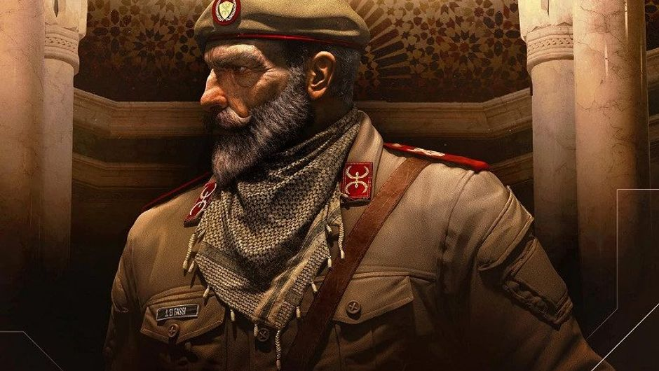 Picture of Kaid, the new operator in Rainbow Six Siege