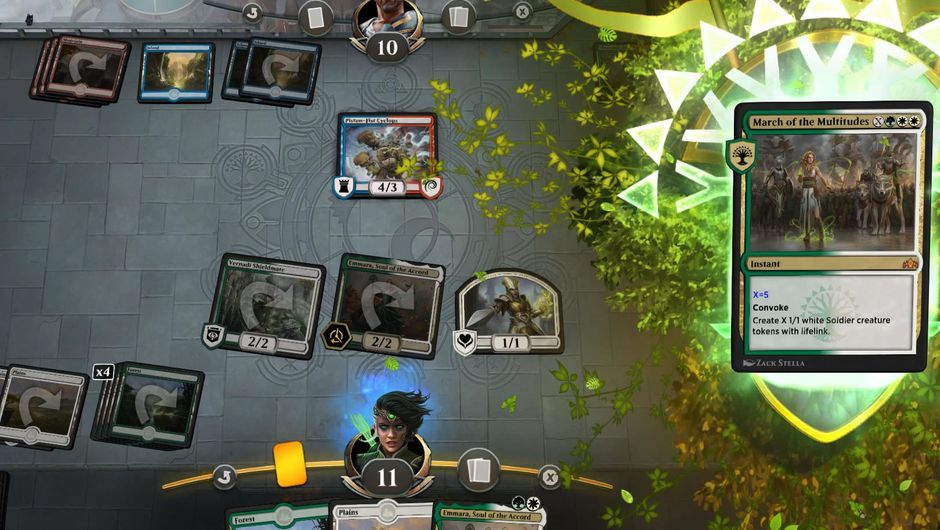 Magic: The Gathering Arena, digital version of the tabletop TCG