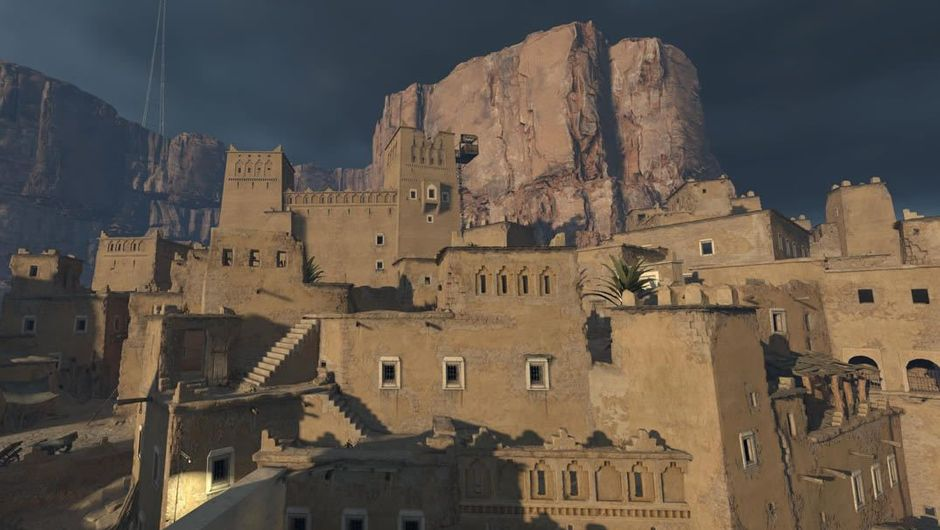 A screenshot of a fort from the now-cancelled Left 4 Dead
