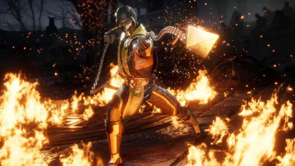 picture showing scorpion from mk11