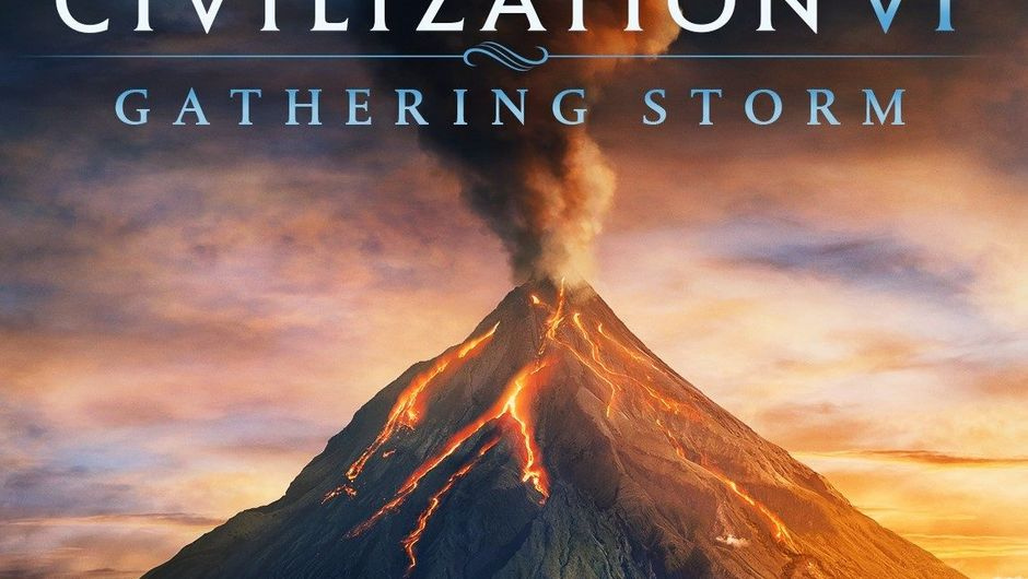 Civilization VI: Gathering Storm title