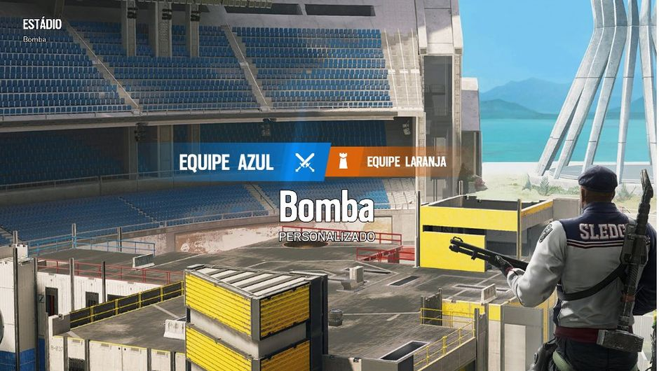 screenshot showing Rainbow Six Siege stadium map