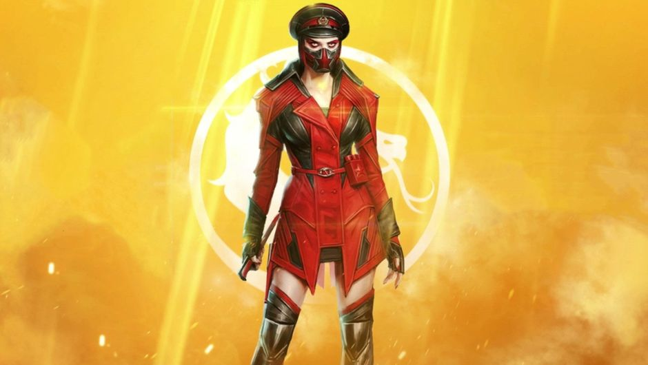 Promotional image for Kold War Skarlet in Mortal Kombat 11