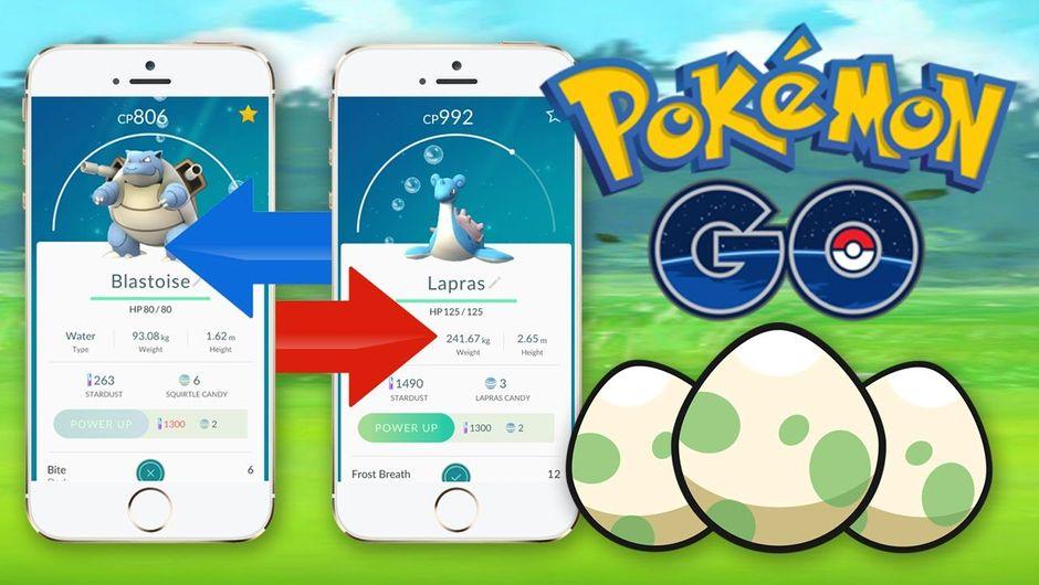Pokémon GO trading system