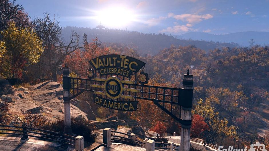 picture showing world of Fallout 76