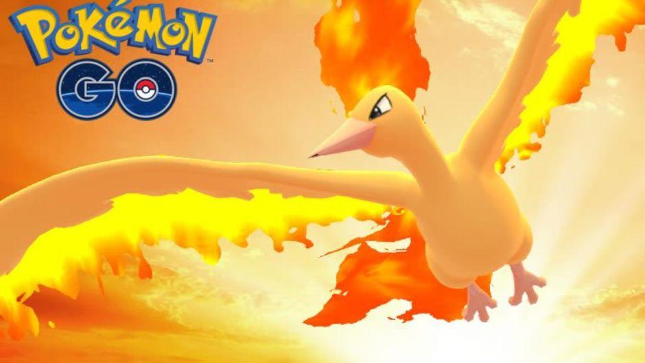 Pokemon GO legendary flying Pokemon Moltres
