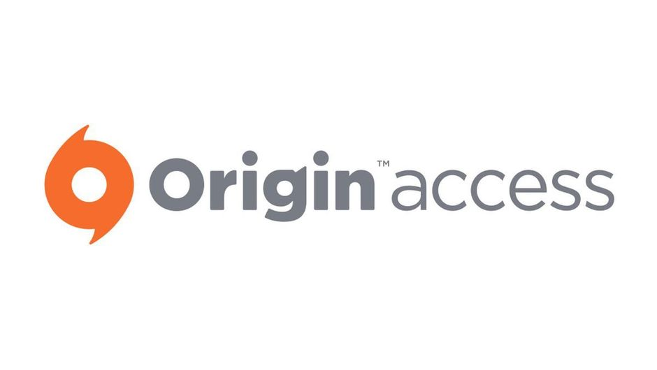 EA's official logo for Origin Access on a white background