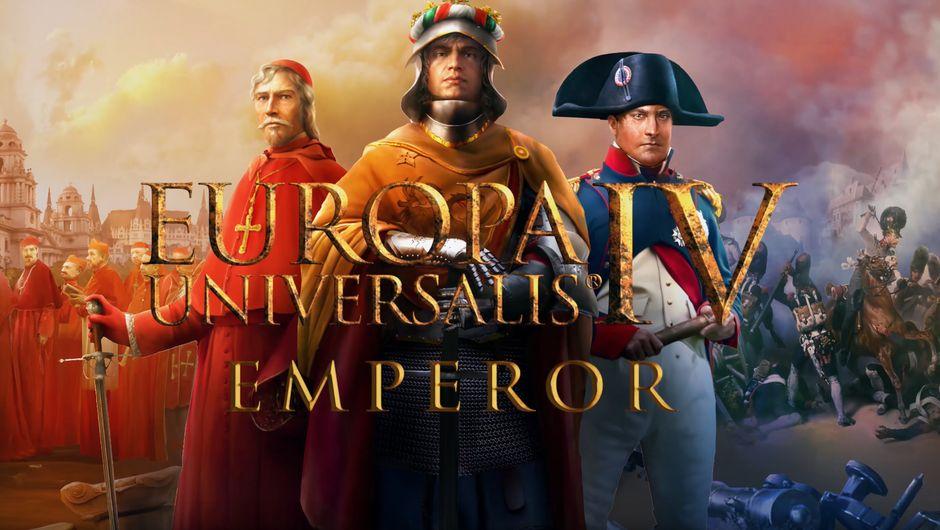 Europa Universalis IV: Emperor screenshot showing three characters