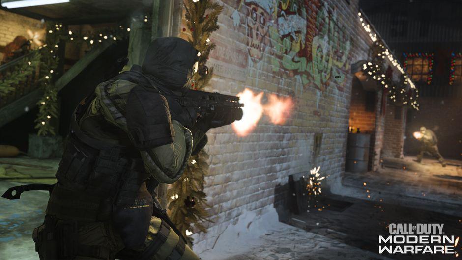 Call of Duty: Modern Warfare - Winter Docks shooter