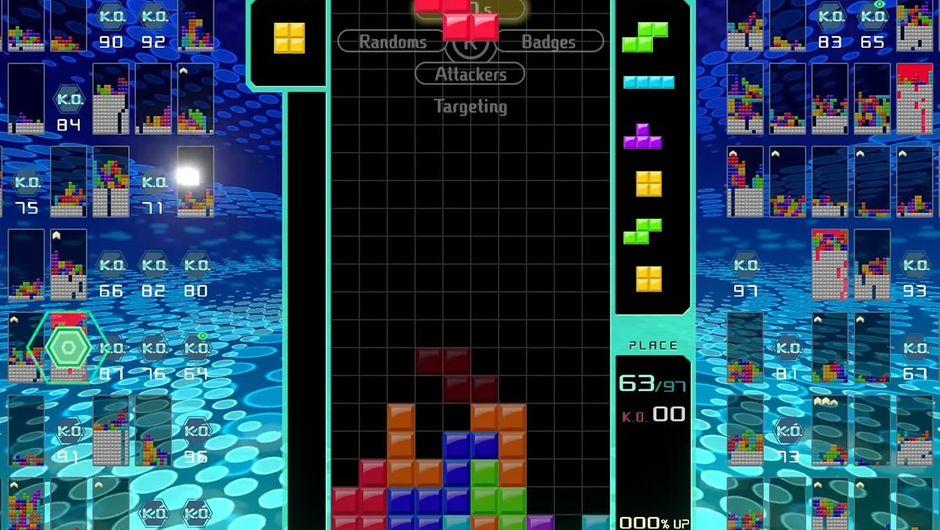 Tetris 99, the Tetris battle royale