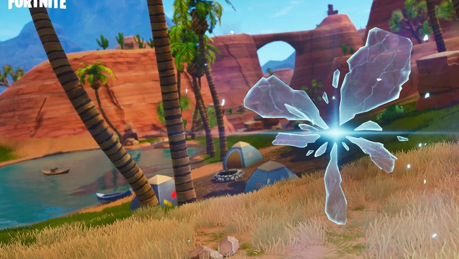 Screenshot of reality rifts from Epic's Fortnite: Battle Royale