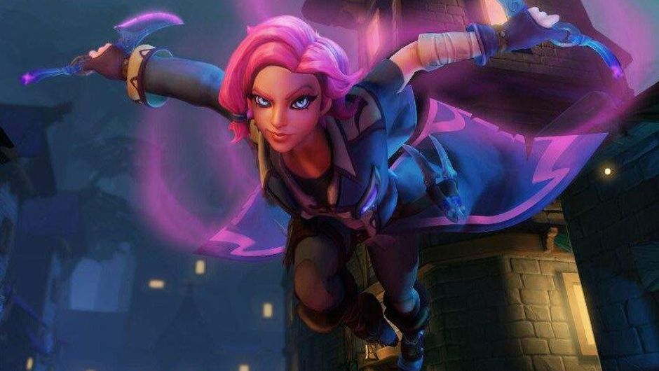 Picture of Maeve being annoying as always in Paladins