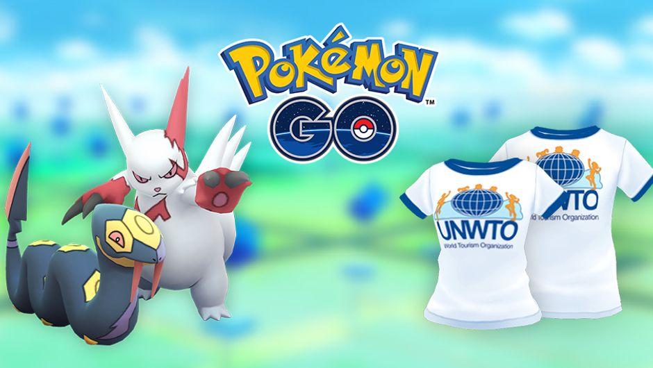 Pokemon GO, World Tourism Day poster