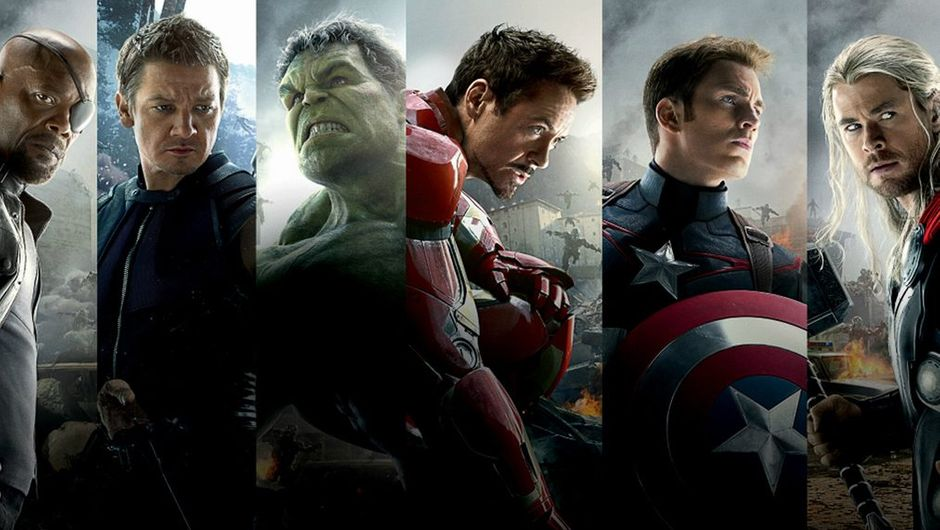 picture showing super heroes from marvel's avengers