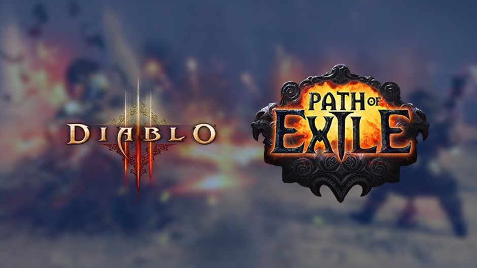 picture showing diablo 3 and path of exile logos