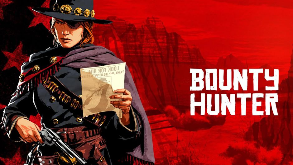 Bounty Hunter role from Red Dead Online