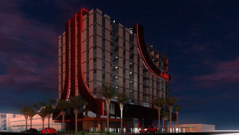 Atari Hotel concept