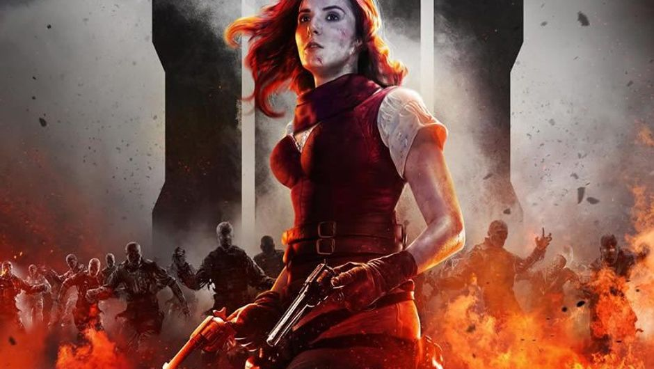 Scarlett Rhoades, protagonist of Call of Duty: Black Ops 4 Zombies