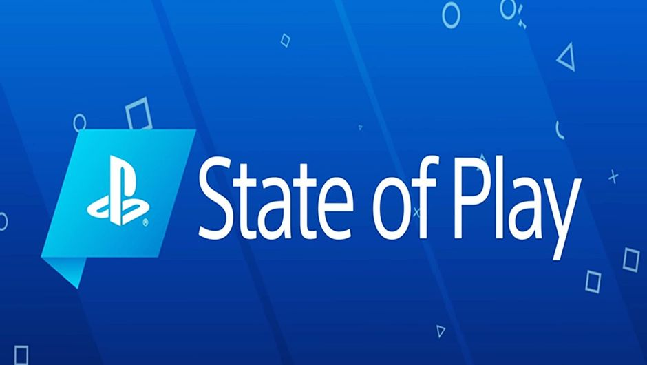 State of Play text on a blue PlayStation background.