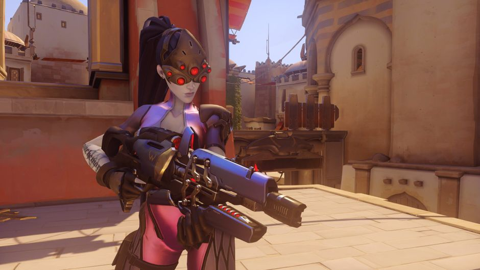 Widowmaker in game