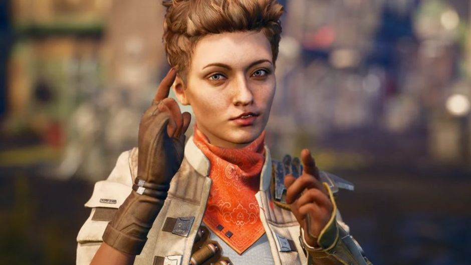 Picture of Ellie from The Outer Worlds