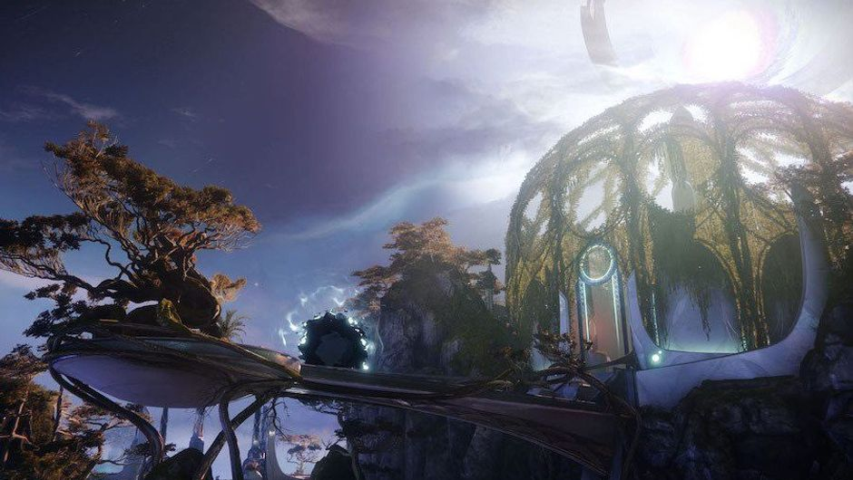 Picture of Blind Well's environment in Destiny 2