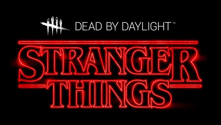 artwork showing stranger things and dead by daylight logos