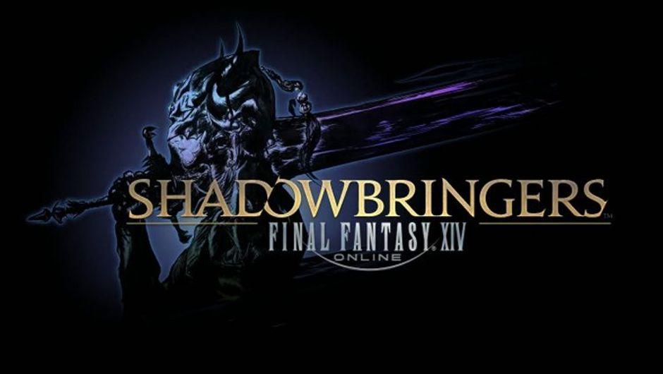 picture showing Final Fantasy XIV: Shadowbringers logo