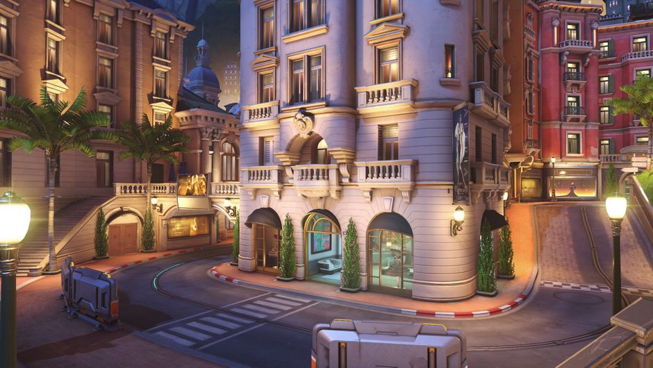 Monte Carlo map from Blizzard's Overwatch 2