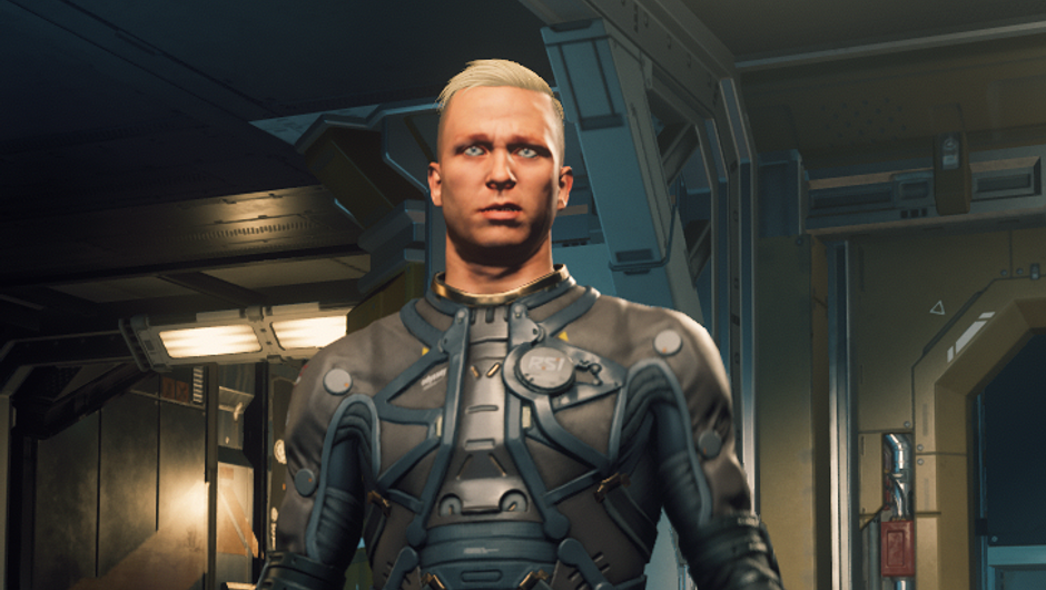 Character in the game Star Citizen