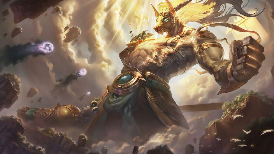 League of Legends champion Nasus Eternal skin