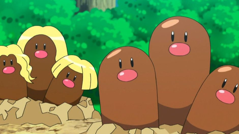 picture showing diglett in pokemon