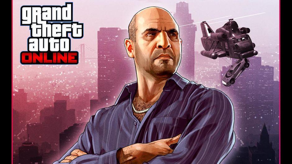 GTA Online's character Simeon Yetarian